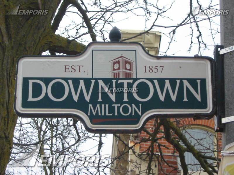 Milton Ontario Downtown Ward Includes Downtown Milton